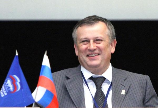 Александр Дрозденко вступил в должность губернатора Ленинградской области.