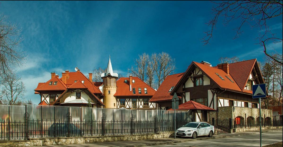 Дом Иванова на Каменном острове